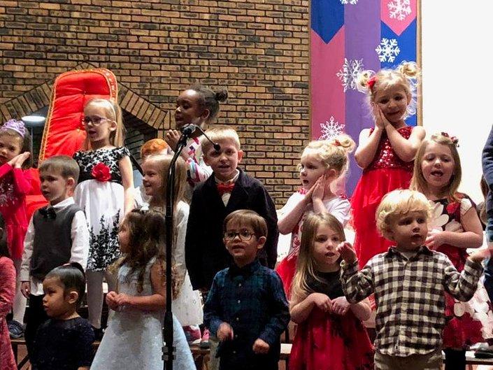 A 'Not So Silent' Christmas Program at STV School