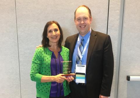 Principal Mary Brinkman Honored at NCEA